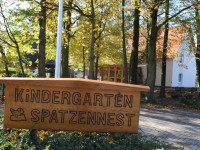 Schild Kindergarten